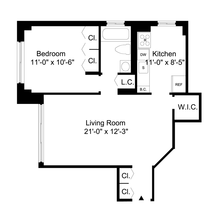 The barclay luxury manhattan apartments for rent for Barclay home design